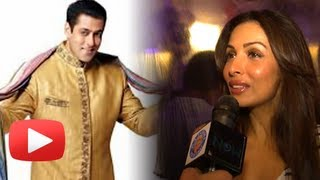 Malaika Arora Khan Reacts To Salman's Khan Marriage - Exclusive