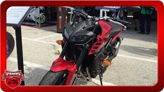 7. 2017 Yamaha FZ09 Motorcycle Review