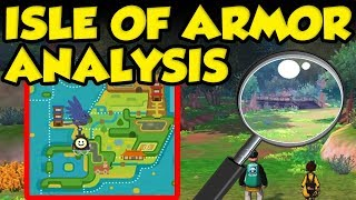 Pokemon Isle Of Armor Map Size! New Pokemon Sword and Shield Trailer Analysis by Verlisify