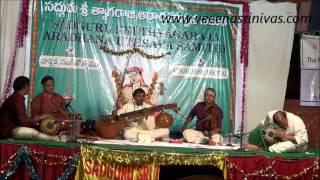Tulasi Dalamulache - Mayamalavagoula-Rupaka Talam - Tyagaraja - Veena D Srinivas
