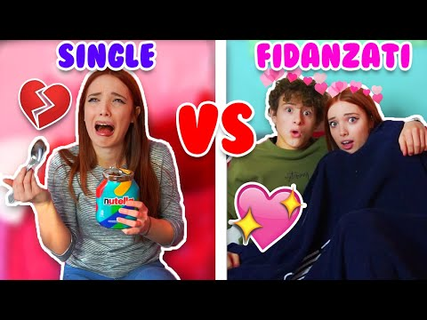 SINGLE VS FIDANZATI con @Lukas e @Ceci Official 👑