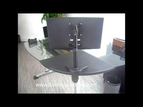 Mesa ordenador porttil ordenador porttil mesa de altura - Elevador monitor ikea ...