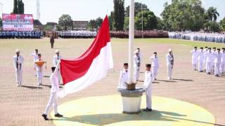 Pandeglang Indonesia  City new picture : UPACARA PERINGATAN HUT REPUBLIK INDONESIA KE 71 DI KABUPATEN PANDEGLANG