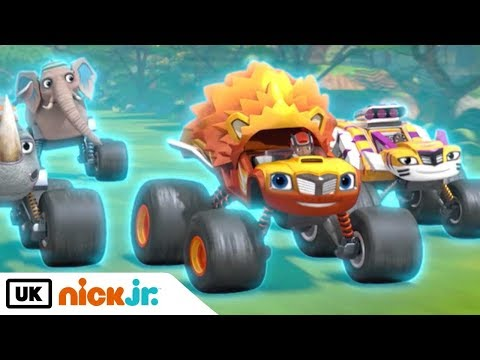 Blaze and the Monster Machines | Ready, Set, Roar! | Nick Jr. UK