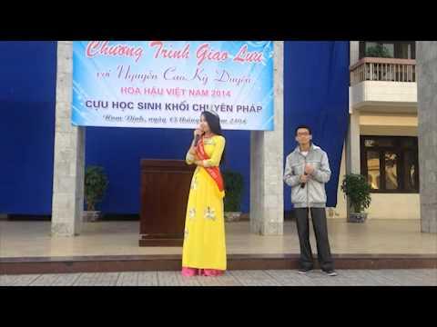 Hoa hậu Kỳ Duyên hát ca khúc Hoang mang tại trường cũ
