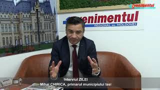 Interviul ZILEI: Mihai CHIRICA, primarul municipiului Iasi