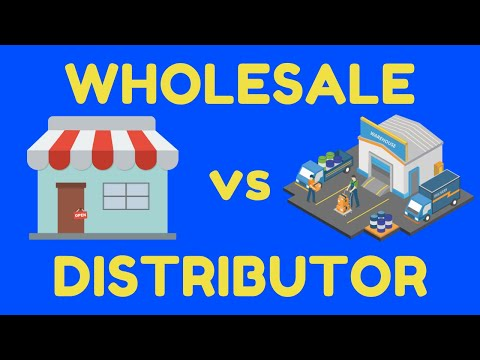 Wholesaler Vs Distributor Difference Explained