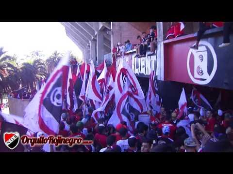 Previa de la hinchada. Newell's 3 - 0 Vélez. OrgulloRojinegro.com.ar - La Hinchada Más Popular - Newell's Old Boys