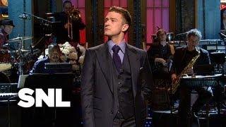 Justin Timberlake Monologue - Saturday Night Live