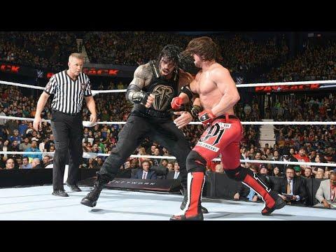WWE AJ Styles vs. Roman Reigns - WWE World Heavyweight Championship Match Payback 2016