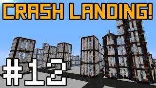 Minecraft Crash Landing - City Exploration! #12