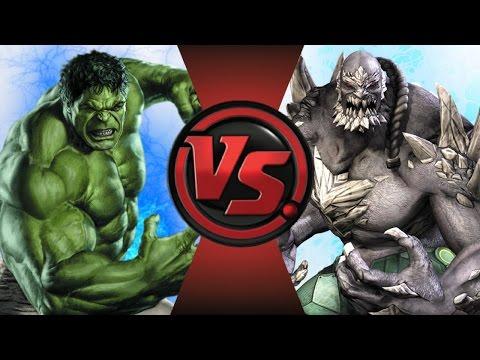 HULK vs DOOMSDAY! Cartoon Fight Club Episode 107
