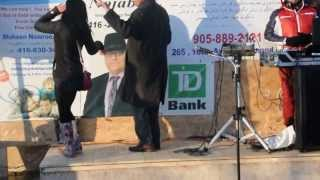 رقص ایرانی شهردار و رییس پلیس، چهارشنبه سوری 1392 - ریچموند هیل تورنتو