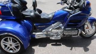 5. 2001 Honda Goldwing GL1800 ABS with California Side Car Trike Kit IRS Review and Walkaround