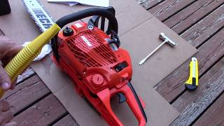 5. Echo CS310 Chainsaw Unboxing, Review, and Cutting footage