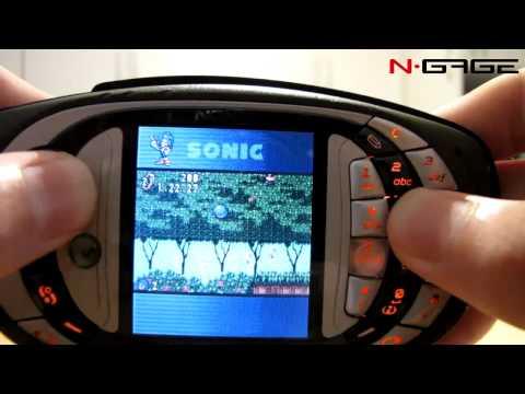 N-Gage QD - SonicN Gameplay