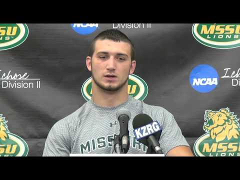 Gatlin Ridgway Press Conference Week 7
