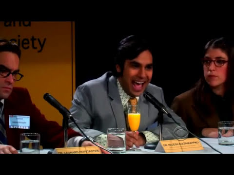 The Big Bang Theory 4x13 The science conference