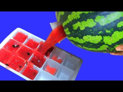 AWESOME WATERMELON TRICK!