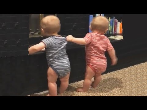 Video The FUNNIEST and CUTEST video you'll see today! - TWIN BABIES Adorable Moments download in MP3, 3GP, MP4, WEBM, AVI, FLV January 2017