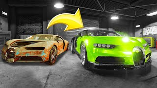 Video Fixing a $2,200,000 BUGATTI Chiron! (Car Mechanic Simulator) MP3, 3GP, MP4, WEBM, AVI, FLV Agustus 2019