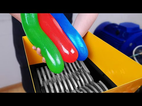 Shredding Machine Vs Jelly | 10 Experiments