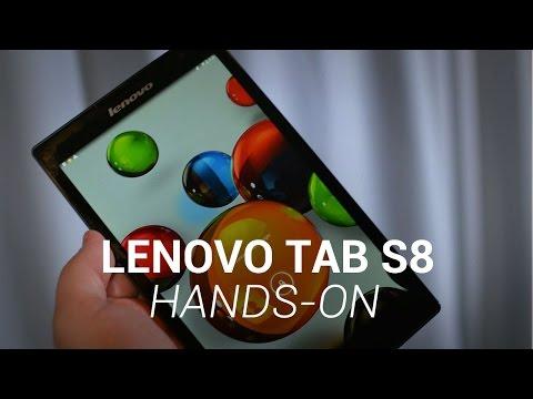 Lenovo TAB S8 Hands-On