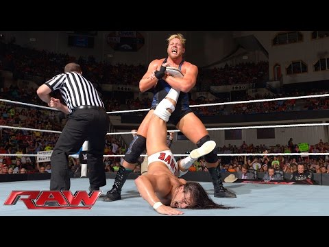 raw - Jack Swagger goes one-on-one with the inspirational Bo Dallas.