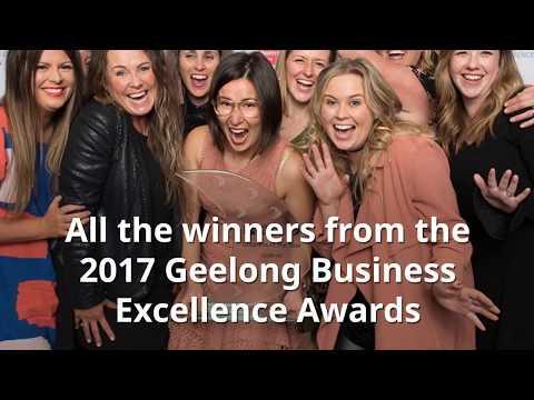 Powercor Geelong Business Excellence Awards winners 2017