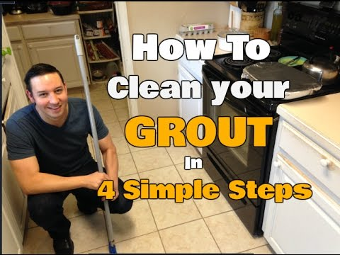 How to Professionally Clean Your Grout | Without Getting On Your Hands & Knees