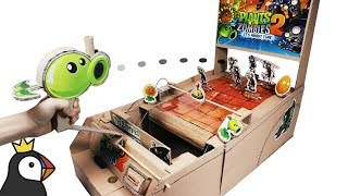 How to Make Plant vs Zombies Game from Cardboard