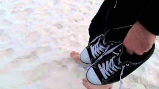White Beach Australia  city photos : Squeaky white sand at Hyams Beach, Australia