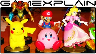 Amiibo Figurines Slideshow (Production Models)
