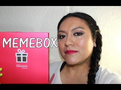 Cajita que Necesitas: MEMEBOX