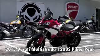8. Pre-Owned 2013 Ducati Multistrada 1200 S Pikes Peak at Euro Cycles of Tampa Bay