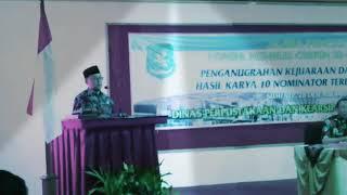 "Video ""Nilai Sastra"", Bupati Sumenep Dr. KH. A. Busyro Karim, M.Si MP3, 3GP, MP4, WEBM, AVI, FLV Mei 2019"