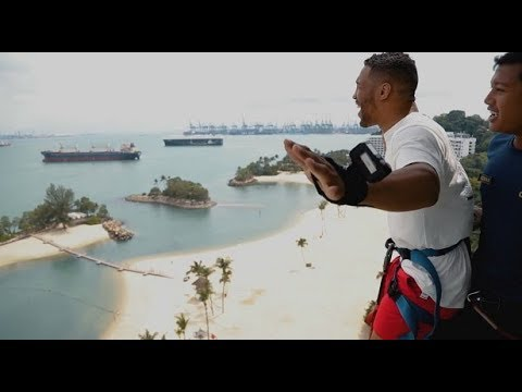 Fight Night Singapore: Kevin Lee Gets Adventurous in Singapore