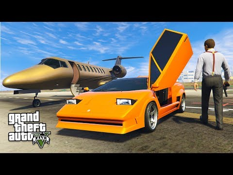 GTA 5 GUN RUNNING DLC - NEW LAMBORGHINI SPENDING SPREE!! (GTA 5 Online DLC Update)