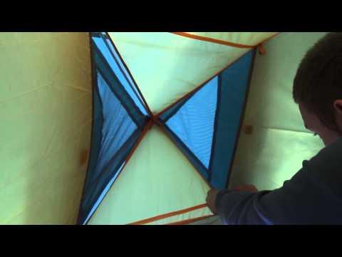 Палатка Nova Tour «Эльф 3 v.2». Видеообзор.