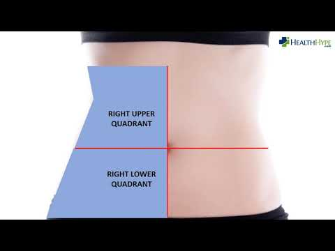 Right Side Abdominal Pain - Cause and Organs