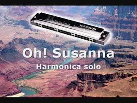 """Harmonica oh susanna harmonica tabs : Harmonica Basics IV - How to play harmonica songs: """"Oh Susanna"""""""