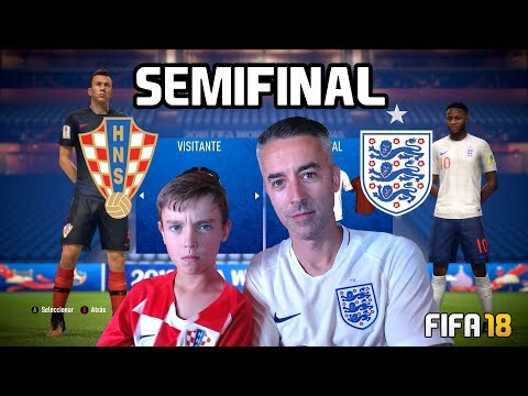 SEMIFINAL INGLATERRA VS CROACIA - MUNDIAL 2018 - FIFA 18