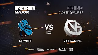 Newbee vs Vici Gaming, EPICENTER Major 2019 CN Closed Quals , bo3, game 1 [Mortalles]