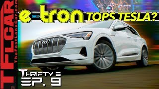 Here's How The New Audi e-tron Beats Tesla at It's Own Game...OR Does it? - Thrifty 3 Ep.9 by The Fast Lane Car