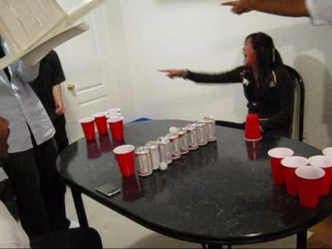 Beer Pong Fail