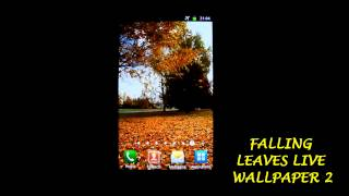 Falling Leaves Live Wallpaper2 YouTube video