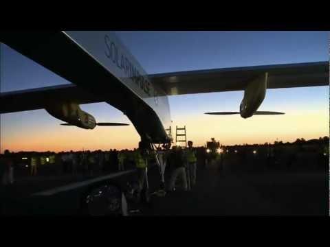 Межконтинентальный рейс самолета на солнечных батареях - Центр транспортных стратегий