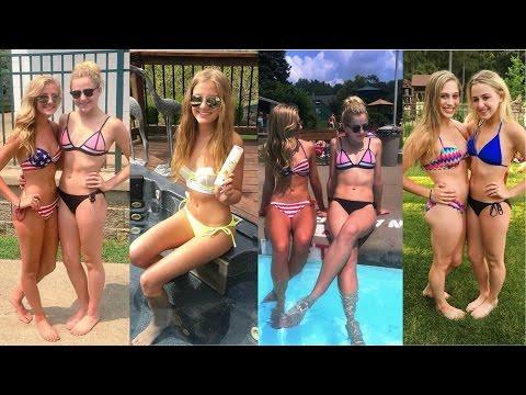 Brooke & Paige Hyland Photoshoot 2014