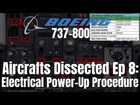 Aircrafts Dissected Ep 8: Electrical Power Up ProcedureIZibo 737IX-Plane 11 Detailed Tutorial