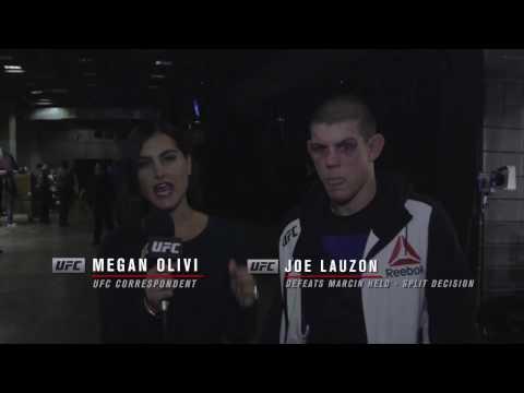Fight Night Phoenix: Joe Lauzon Backstage Interview (видео)